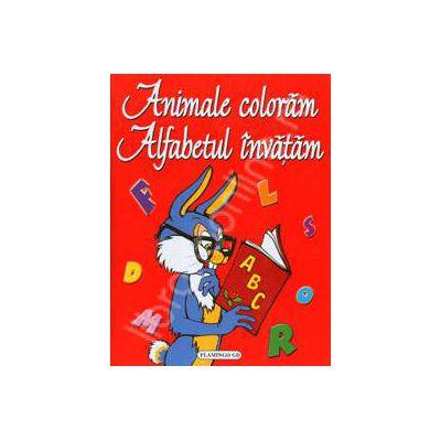 Animale coloram. Alfabetul invatam