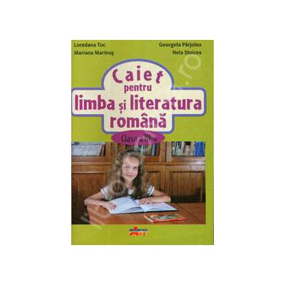Caiet pentru limba si literatura romana, clasa a III-a