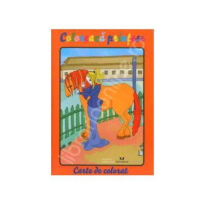 Coloreaza cu printese (Carte de colorat)