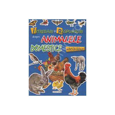 Intrebari si raspunsuri despre animalele domestice cu abtibilduri