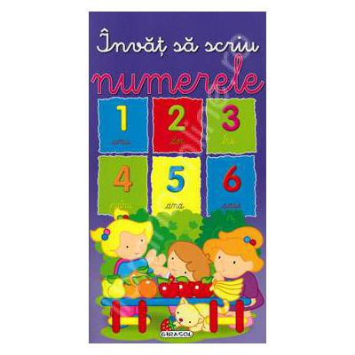 Invat sa scriu numerele
