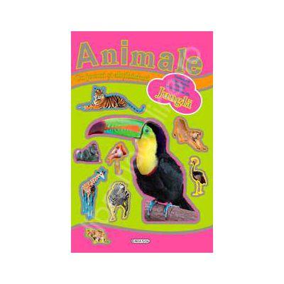 Jocuri si abtibilduri cu animale - Jungla