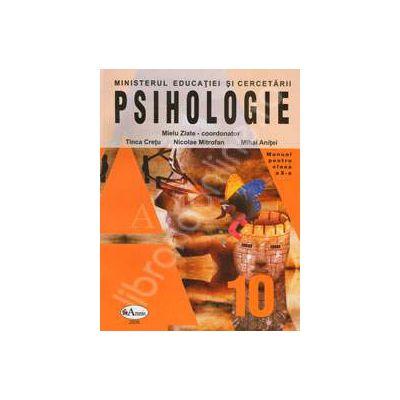 Psihologie. Manual pentru clasa a X-a (Mielu Slate)