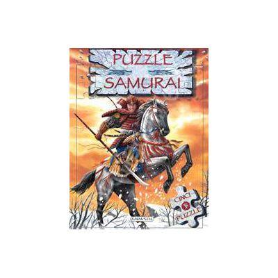 Carte cu puzzle - Samurai