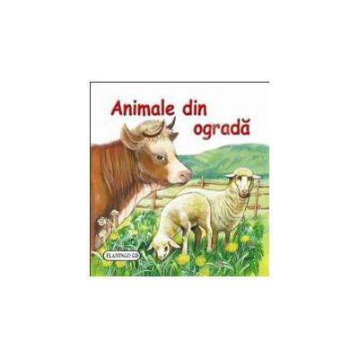 Animale din ograda. Pliant cartonat cu imagini color
