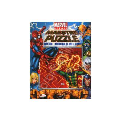 Maestrii puzzle. Aventuri labirinturi si multe altele!