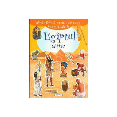 Abtibilduri stralucitoare reutilizabile - Egiptul antic (+4 ani)