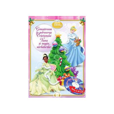 Disney Audiobook Printese: Cenusareasa la petrecerea Craciunului. Tiana si magia sarbatorilor - Carte + CD