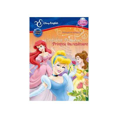 Disney English. Povesti cu printese. PRINTESE INCREZATOARE (Povesti bilingve)