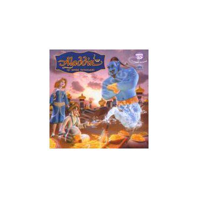 Aladdin si lampa fermecata. Carte 3D (Contine ochelari 3D)