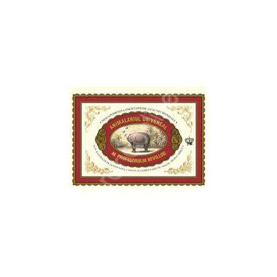 Animalariul universal al Profesorului Revillod (Carte cartonata, cu spiralare)
