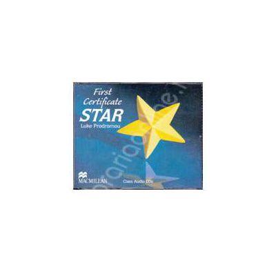 First Certificate STAR, Class Audio CDs (Contine 3 cd-uri)