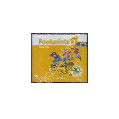 Footprints 3 - Class Audio CDs 3 (Contine 3 cd-uri)