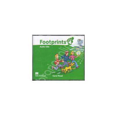 Footprints 4 - Class Audio CDs 4 (Contine 4 cd-uri)