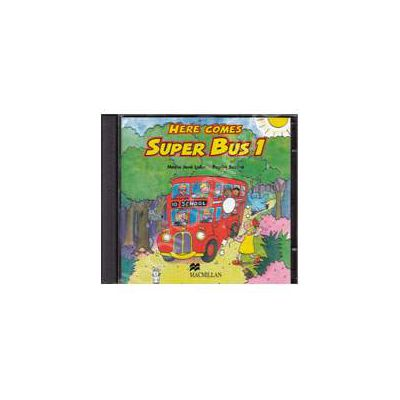 Here Comes Super Bus 1 - Starter, Audio CDs (2) (Contine 2 cd-uri)