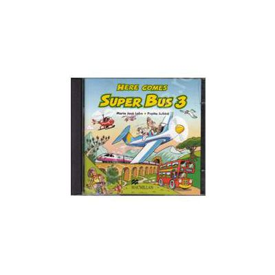Here Comes Super Bus 3 - Elementary A2, Audio CDs (2) (Contine 2 cd-uri)
