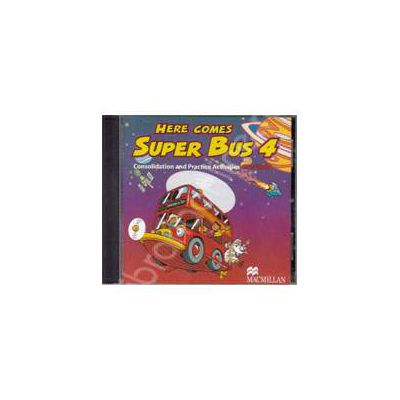 Here Comes Super Bus 4 - Consolidation and Practice Activities CD-ROM