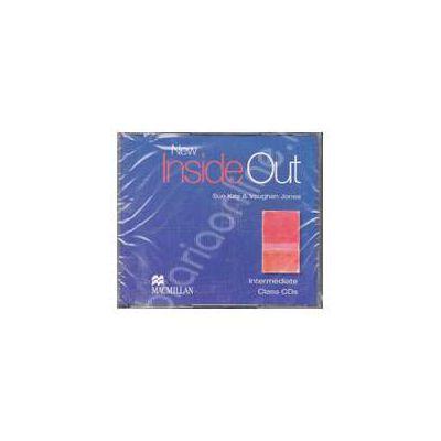 New Inside Out Intermediate B1 Audio CDs, 3 (Contine 3 cd-uri)