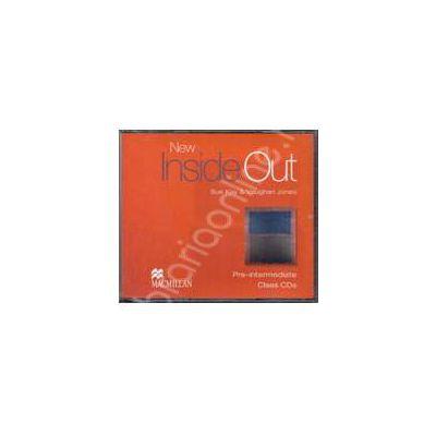 New Inside Out Pre-Intermediate Class Audio CDs, 3 (Contine 3 cd-uri)