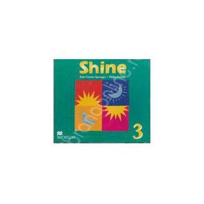Shine 3, B1+. Class Audio CD (Contine 3 cd-uri)