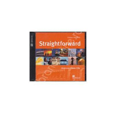 Straightforward Beginner A1, Class Audio CDs (Contine 2 cd-uri)