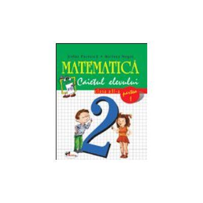 Matematica, caiet pentru clasa a II-a. Partea I, Stefan Pacearca