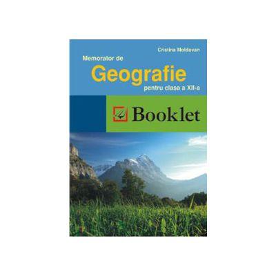 Memorator de geografie pentru clasa a 12-a (Romania-Europa-UE)