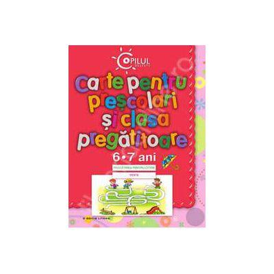 Carte pentru prescolari si clasa pregatitoare (6-7 ani)