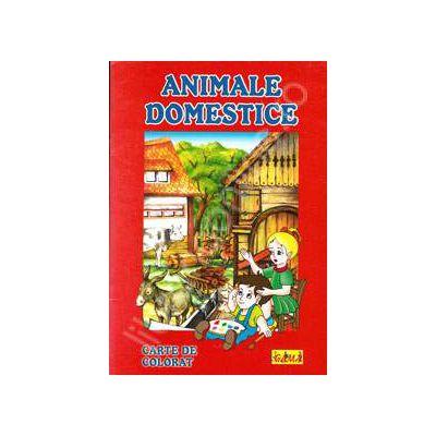 Animale Domestice (Carte de colorat, A4)