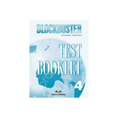 Blockbuster 4 Test Booklet. Teste de limba engleza Blockbuster 4