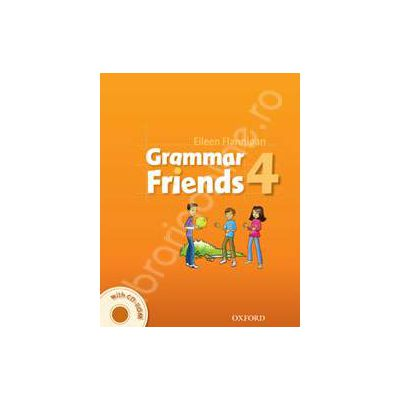 Grammar Friends 4 Students Book with CD-ROM Pack