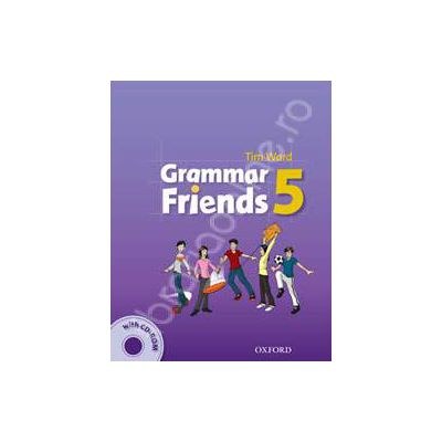 Grammar Friends: 5: Students Book with CD-ROM Pack