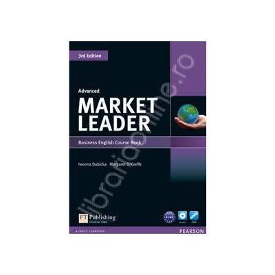Market Leader. Advanced. Level Coursebook and DVD-Rom Pack - 3rd Edition