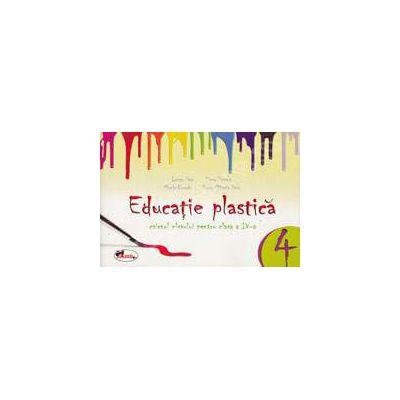 Educatie plastica pentru clasa a IV-a- (caiet format mic) editia a II-a