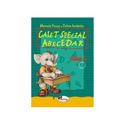 Caiet special abecedar pentru clasa I