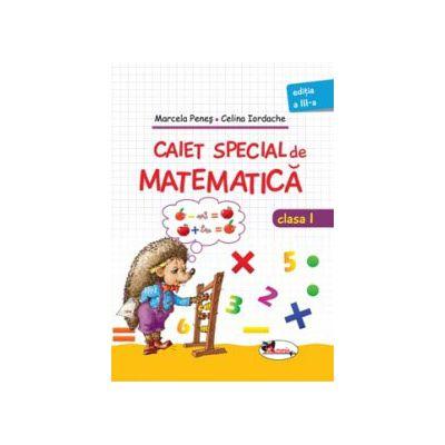 Caiet special matematica pentru clasa I
