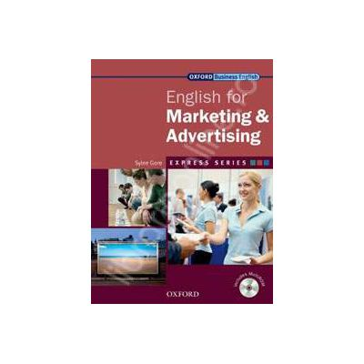 English for Marketing&Advertising: Students Book and MultiROM Pack