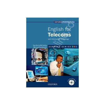 English for Telecoms: Students Book and MultiROM Pack