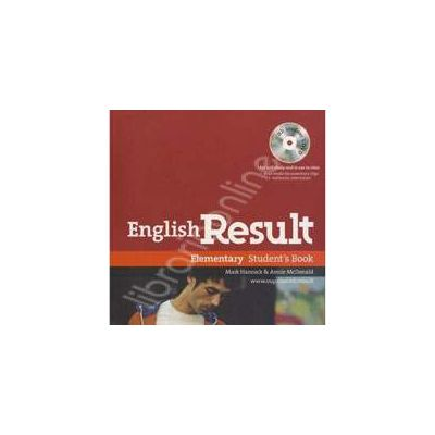 English Result Elementary Students Book with DVD Pack