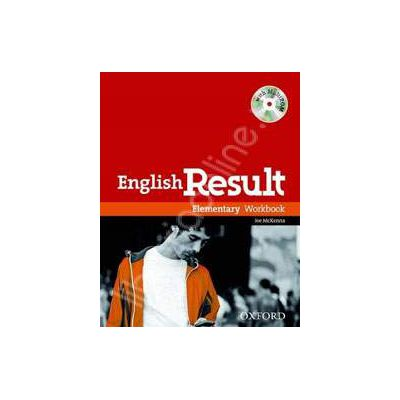 English Result Elementary Workbook with Answer Booklet and MultiROM Pack