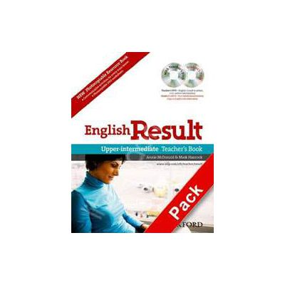 English Result Upper-Intermediate Teachers Resource Pack with DVD and Photocopiable Materials Book