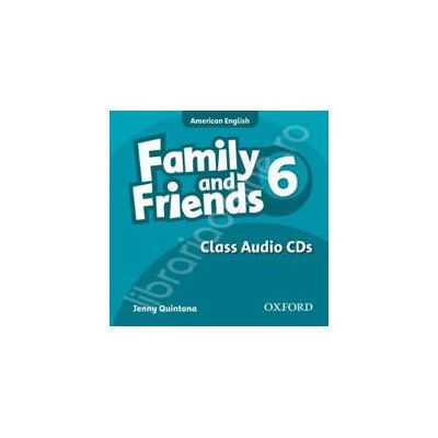 Family and Friends American Edition 6 Class CD (3)
