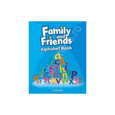 Family&Friends Alphabet Book