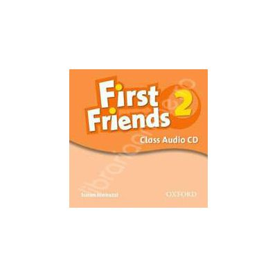 First Friends (American English) 2 Class Audio CD