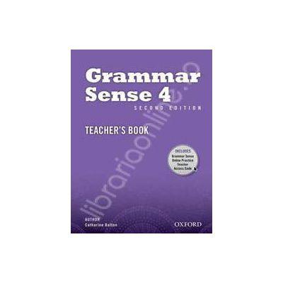 Grammar Sense, Second Edition 4: Teachers Book Pack