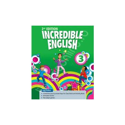 Incredible English 3 iTools DVD-ROM