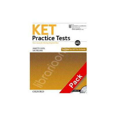 PET Practice Tests: With Key Pack