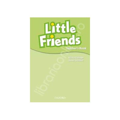 Little Friends Teacher Book