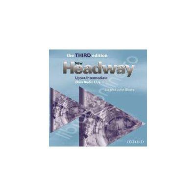 New Headway Upper-Intermediate Third Edition Class Audio CDs (2)
