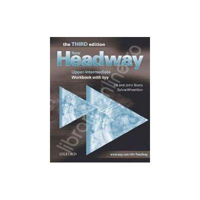 New Headway Upper-Intermediate Third Edition Workbook (With Key)
